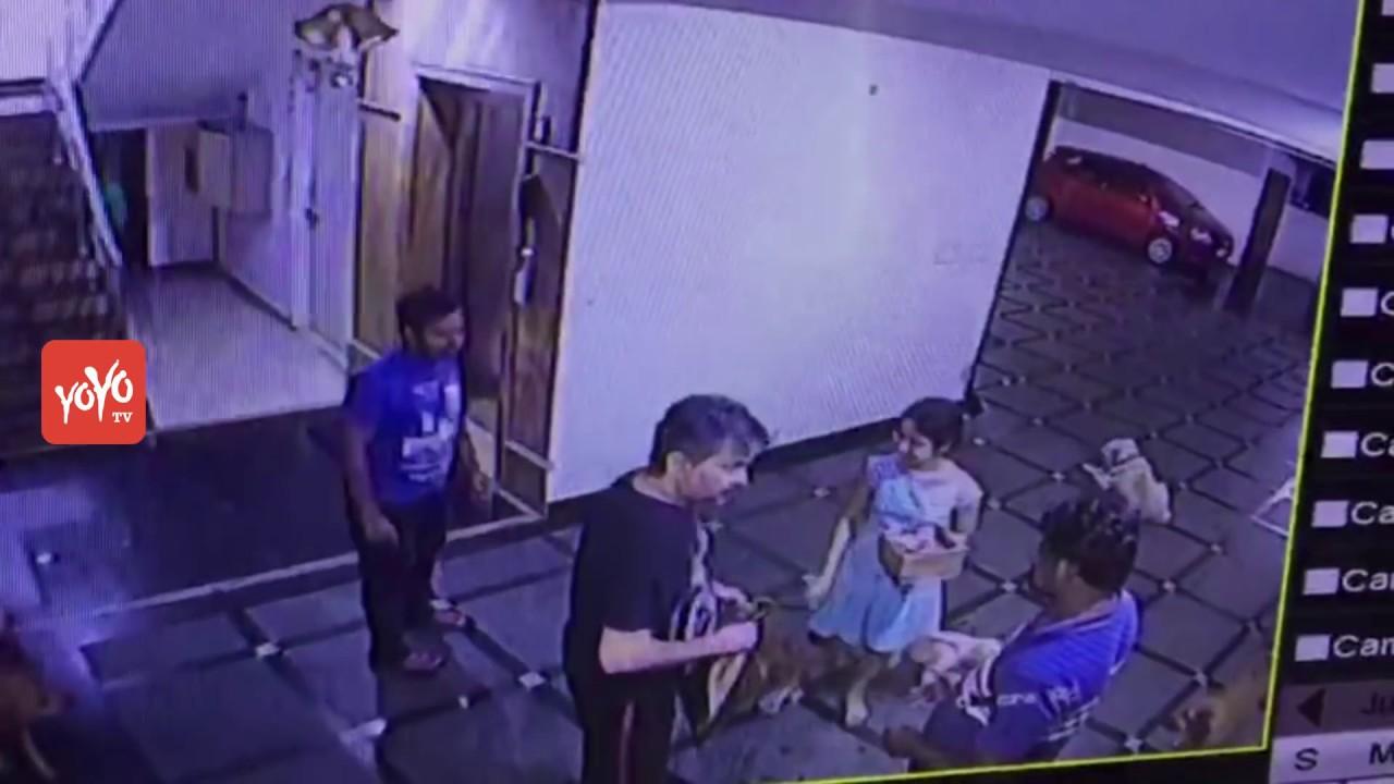 Actor Bharat Exclusive CCTV Footage Beforemenace | Ravi Teja Brother | YOYO  TV Channel