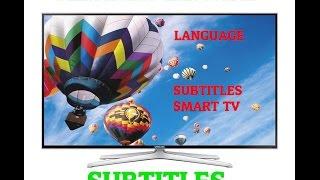 SAMSUNG TV MOVIE AUDIO Language,Subtitles How To Change it