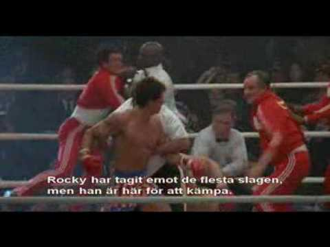 Rocky 4: Rocky Vs Drago Full Fight Part 1 of 2 - YouTube