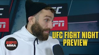 Michael Chiesa: Rafael Dos Anjos is my toughest opponent yet | UFC Live | ESPN MMA