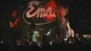The Blood Brothers Live at emos Set fire to the face on fire