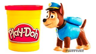 Paw Patrol Stop Motion Play Doh Kids Playtime Toys Family Fun Pretend Play Funny Video for children
