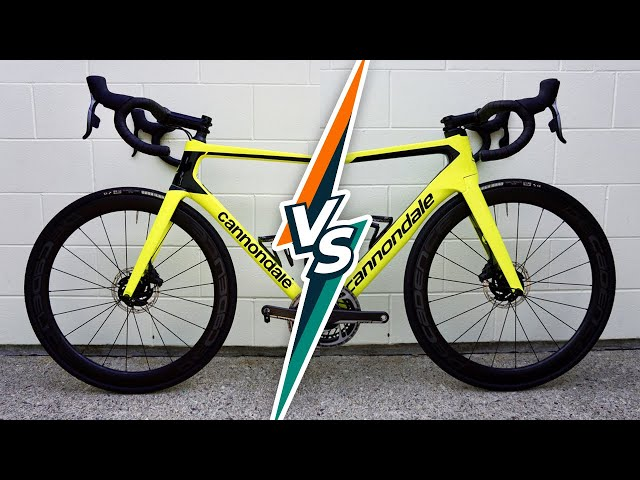Cannondale SuperSix VS SystemSix (Review & Head-to-Head Speed Tests)