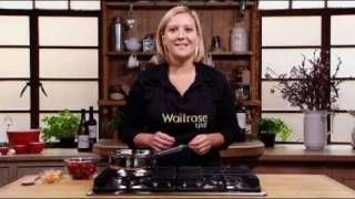 A clementine cranberry sauce recipe from Waitrose