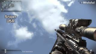 Call of Duty: Ghosts All Weapons (HD)