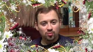 Андрей Гайдулян поздравил с Новым годом