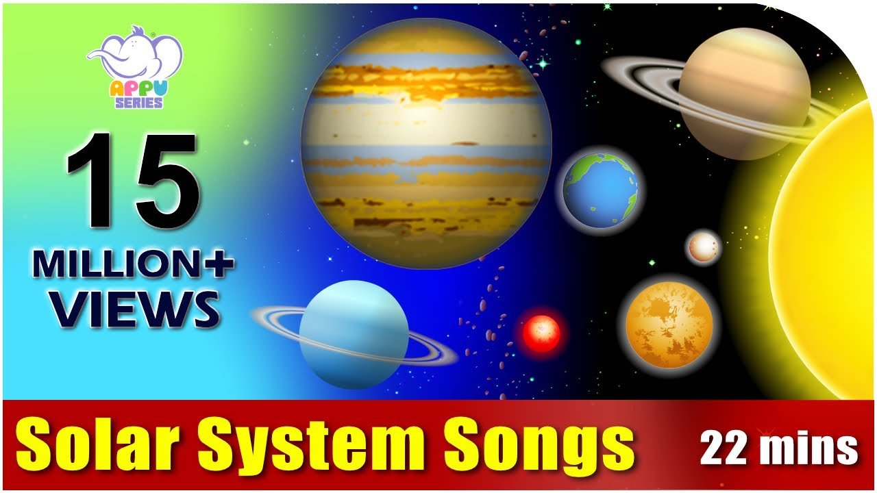Songs on the Solar System in Ultra HD (4K) - YouTube