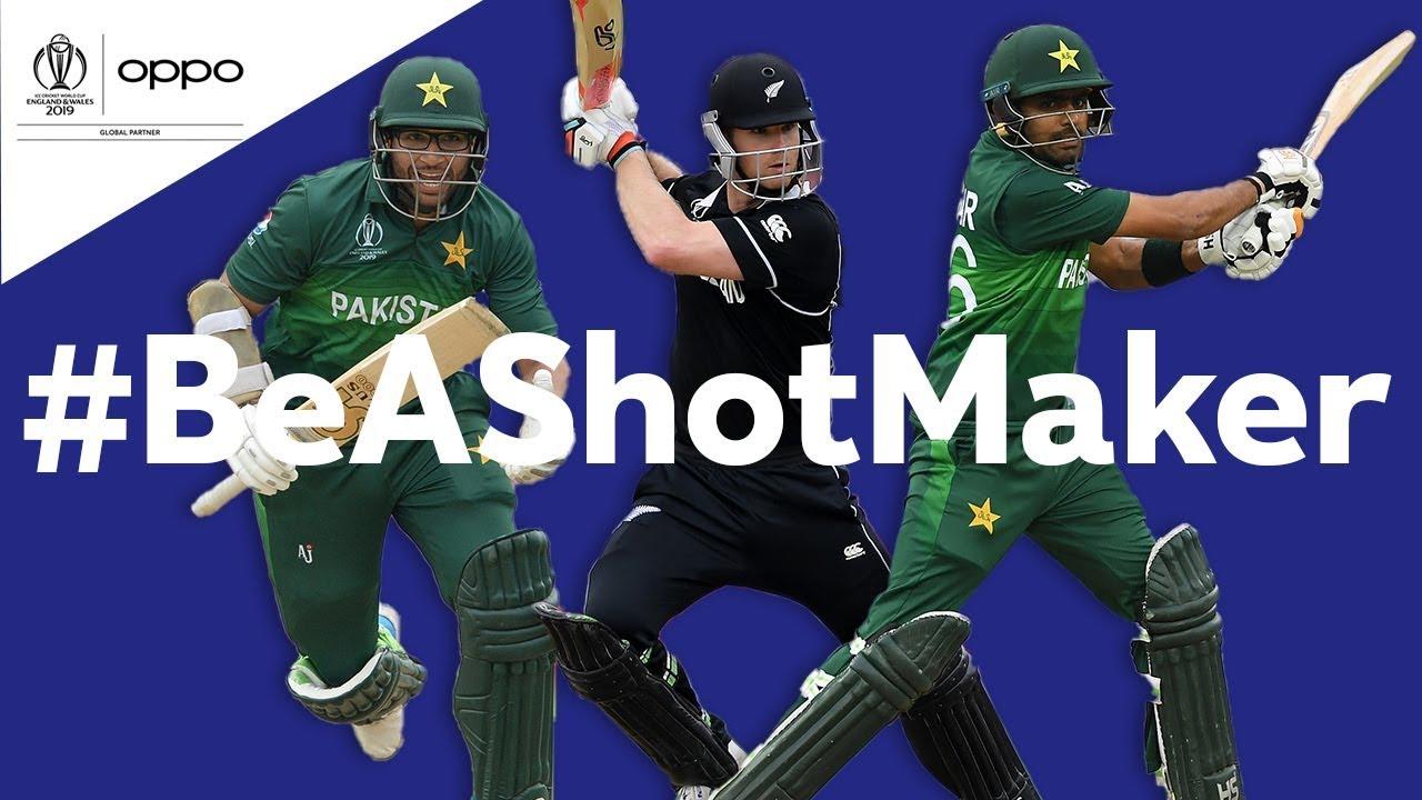 Oppo #BeAShotMaker   New Zealand vs Pakistan - Shot of the Day   ICC Cricket World Cup 2019