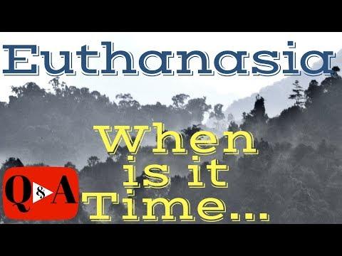 Euthanasia YouTube video
