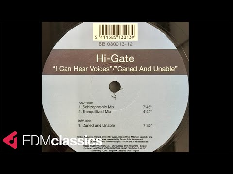 Hi-Gate - Caned And Unable (2000)