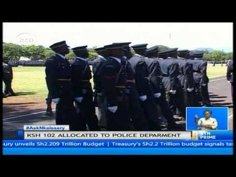 Treasury secretary Henry Rotich increase security funding by 27 billion shillings
