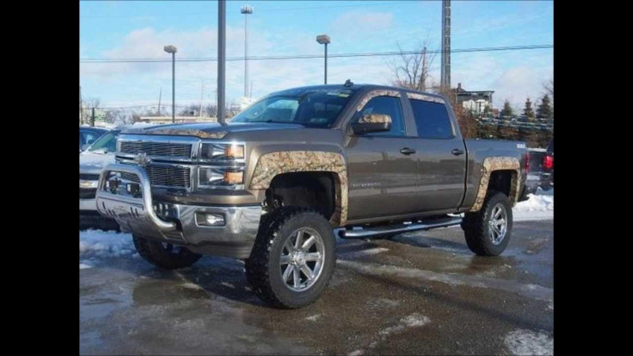 Lifted 2014 Chevy Silverado 1500 LT Rocky Ridge Camo - YouTube