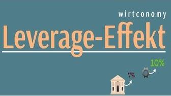 Der Leverage-Effekt | einfach erklärt | Beispielaufgabe | wirtconomy