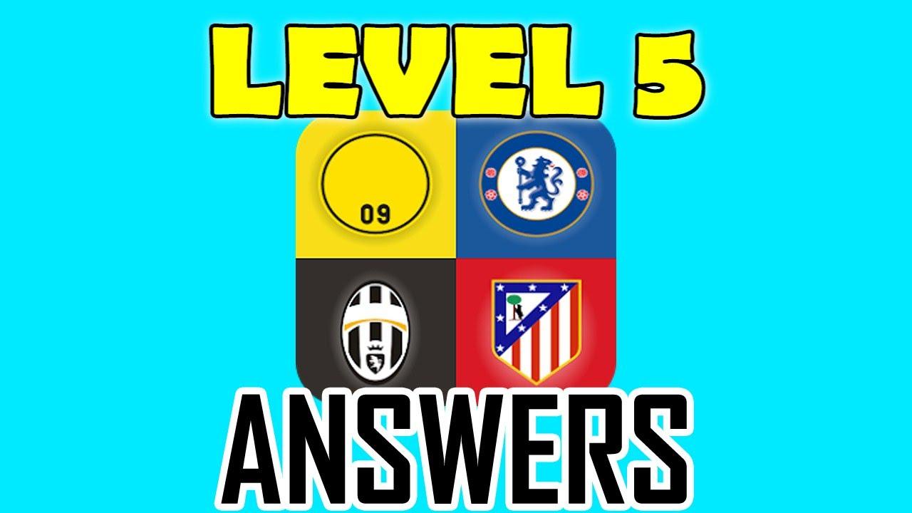 Football Clubs Logo Quiz Level 5 - All Answers - Walkthrough