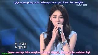 Video [Indo Sub] Davichi - Don't Say Goodbye [LIVE] download MP3, 3GP, MP4, WEBM, AVI, FLV April 2018