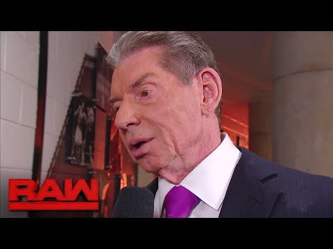 Mr. McMahon suspends Roman Reigns: Raw, March 12, 2018