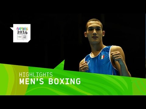 Vincenzo Arecchia Wins Men's 64 Kg Boxing Gold - Highlights | Nanjing 2014 Youth Olympic Games