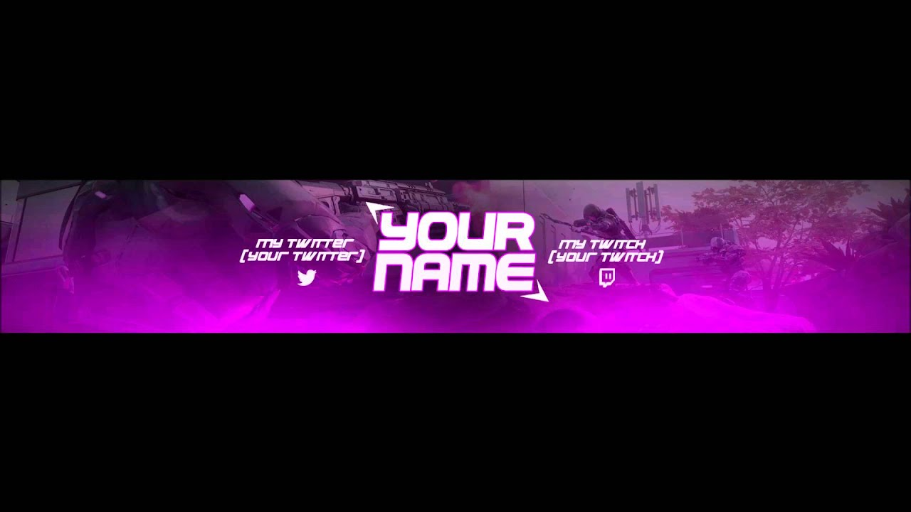 Photoshop Banner template psd #3 BO3 Special - YouTube