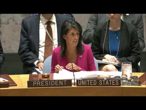 Nikki Haley says Burundi security forces use torture, UN Spokesman refused Inner City Press Bdi Q