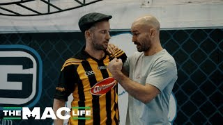 Artem Lobov and Irish Olympic Boxer J.J. Nevin Talk Clinch Work vs. Paulie Malignaggi