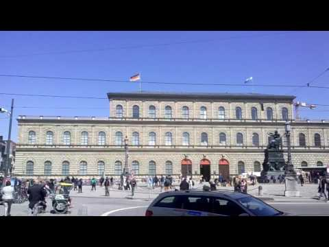 The residence museum Munich Germany.
