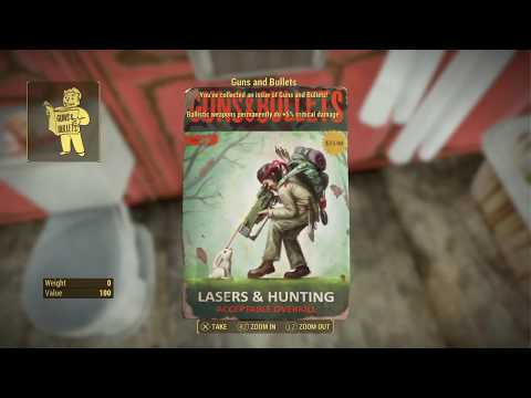 Fallout 4 New mod James Blond's Lake House aka Vault Tec Quest Line Big Update PS4