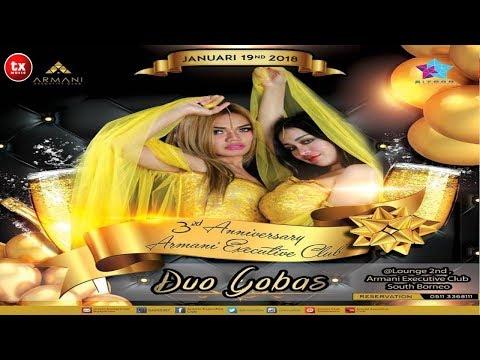 KREEN !!! Cupi Cupita si DUO GOBAS LIVE in Armani Executive Club - Banjarmasin