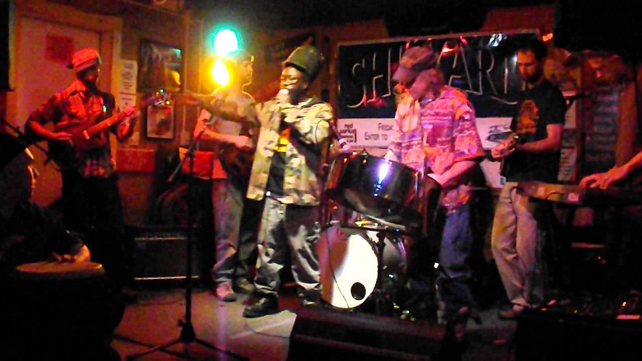 Hills & Valleys Roots Reggae Band @ Red Parka Pub - YouTube