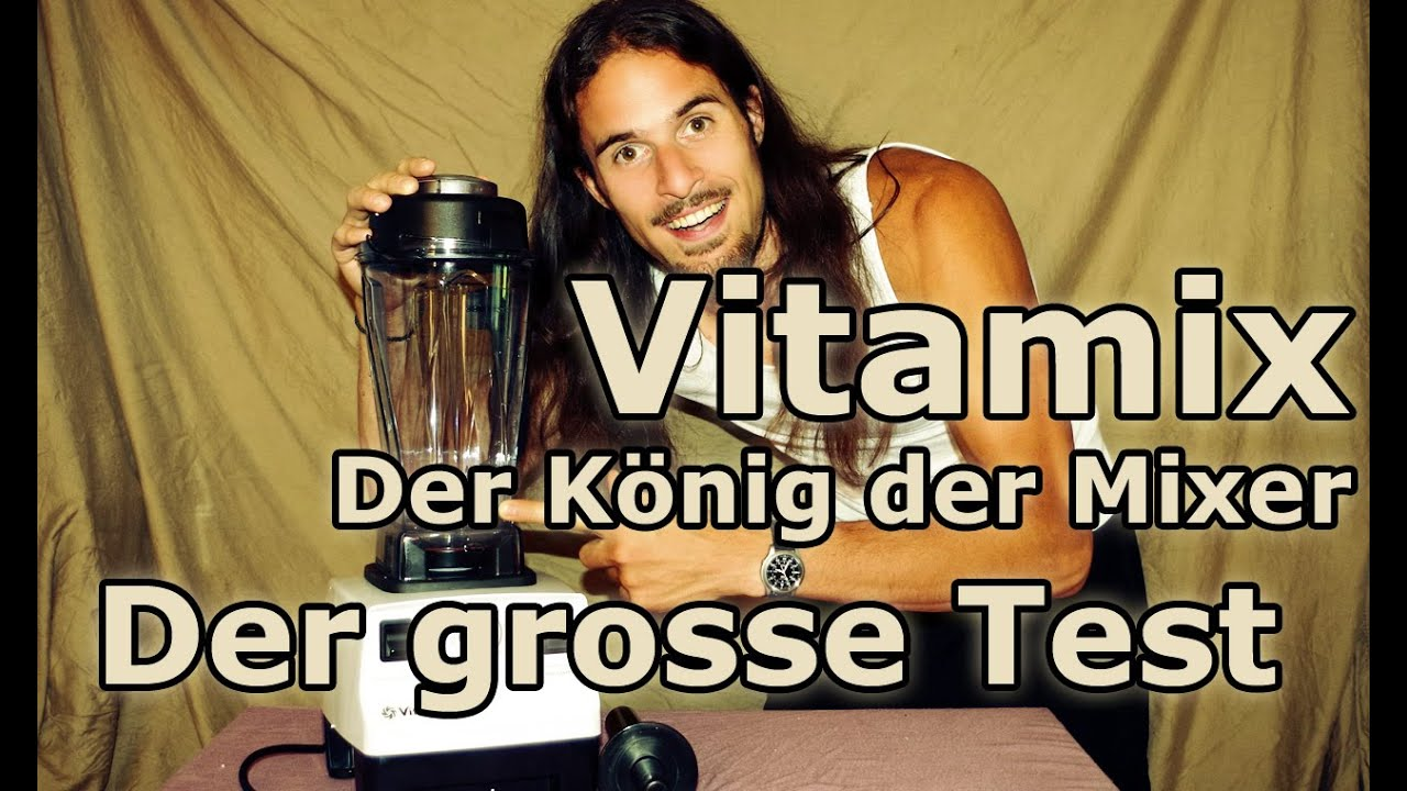 Vitamix TNC 5200 - Der König der Mixer - Der grosse Test (Bester Mixer in der veganen Rohkost Küche)
