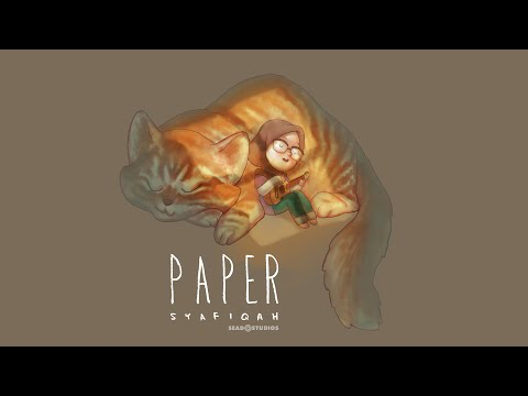 PAPER -Syafiqah (Lyrics Video)