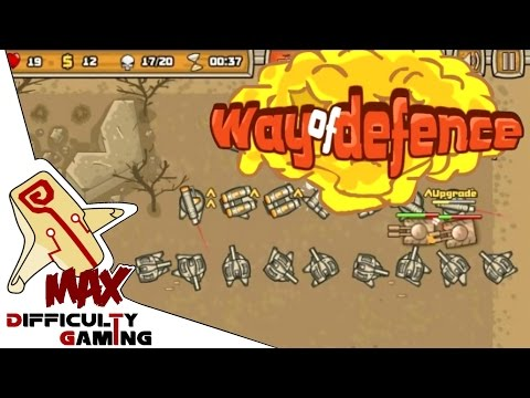 Way of Defence 100% Walkthrough Levels 1 - 7 ALL STARS 90/90 Part 1/2