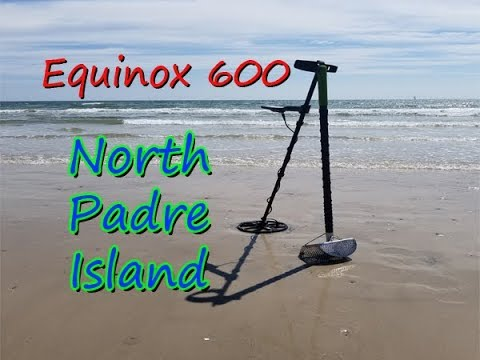 Beach Metal Detecting with the Minelab Equinox 600 in Corpus Christi Texas