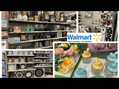 Walmart Decorative Accents & Wall Decor | Shop With Me Spring 2019 Home Decor
