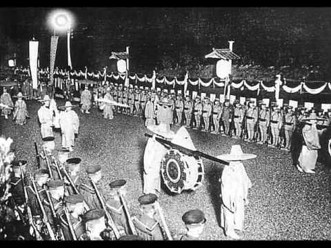 Funeral of Emperor Meiji 明治天皇大葬