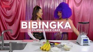 VEGAN BANANA COCONUT BIBINGKA W/ BIBINGKA THE DRAG QUEEN! // CIAO DOWNTOWN S2 EP2
