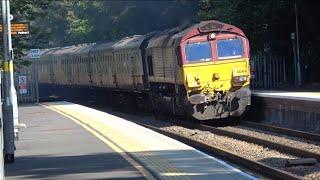 66004 Torbay Express Positioning Move ECS 14 07 18