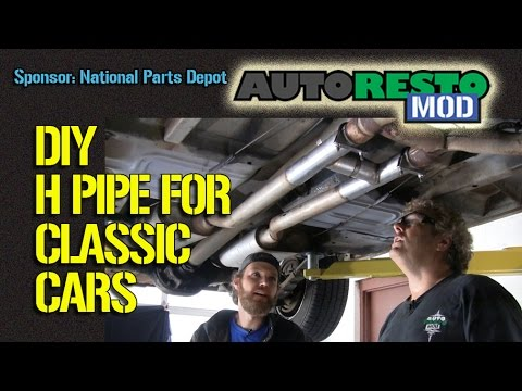 How to add an H pipe X pipe to Your Classic Car for Under $7