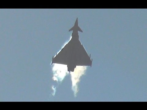 RAF TYPHOON DEMO 2014 - MARCH 14TH (airshowvision)