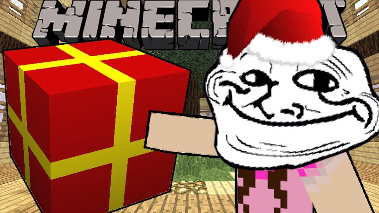Minecraft: STOLEN CHRISTMAS PRESENTS! - Christmas Trolling ...