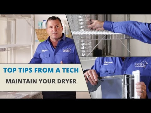 Top Tips From A Tech: Dryer Maintenance Tips
