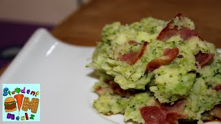 Bacon Broccoli Mashed Potatoes