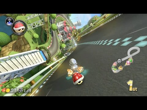 mario kart 8 deluxe mario circuit 1080 hd youtube. Black Bedroom Furniture Sets. Home Design Ideas