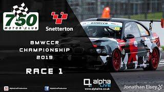 BMW Car Club Racing Championship - Snetterton 2019 - Race 1