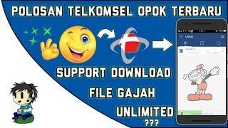 Polosan Telkomsel 0p0k Terbaru Menggunakan Apk Uc Mini | Angkut File Gajah!!!