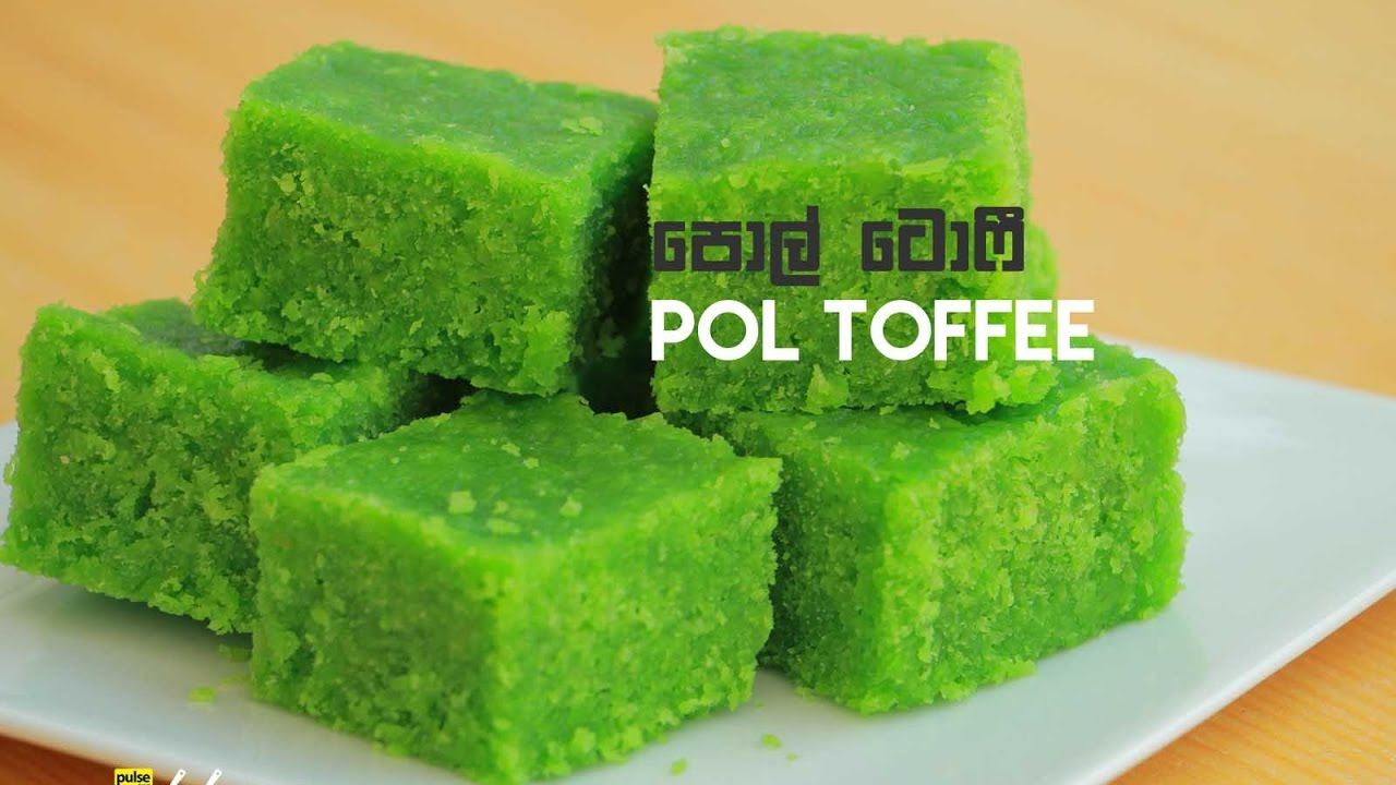 Pol Toffee Recipe
