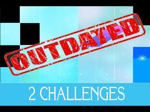 2 NEW CHALLENGES IN MY PIANO TILES 2 MOD!! (Outdated)