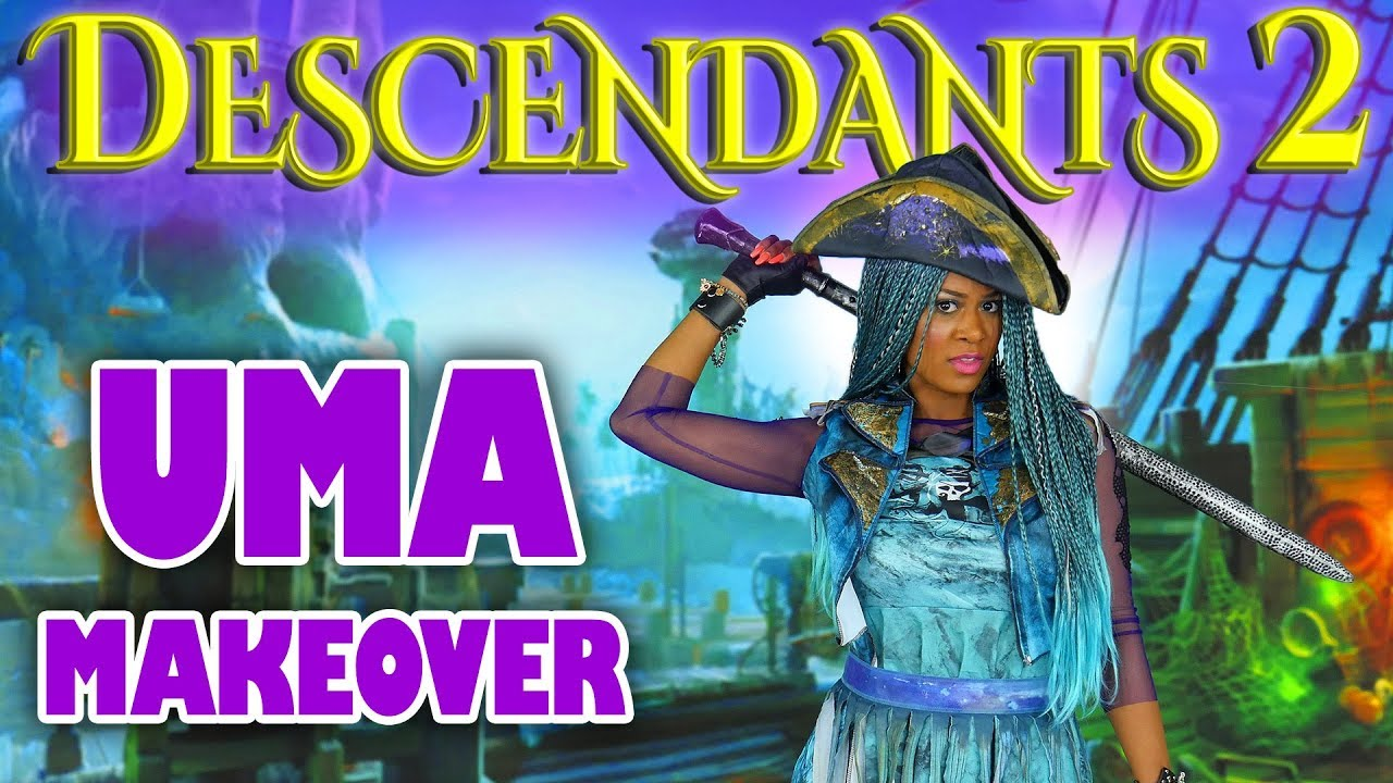 Uma Makeover Descendants 2 What S My Name Totally Tv