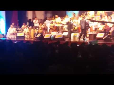 Alisha Chinai performing live @ Bappi Lehri night at Mumbai