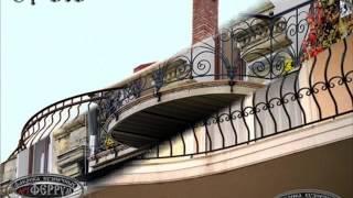 видео Кованые ограждения для балкона и перила