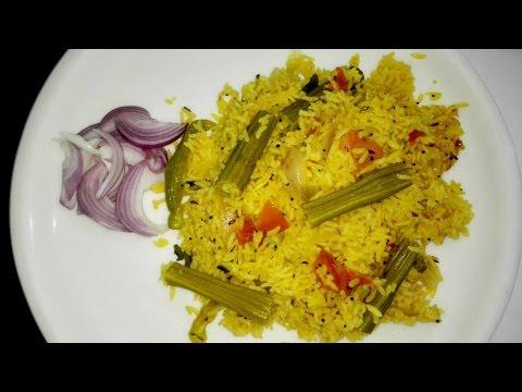 Muninga Rice || మునింగా రైస్ || Drumstick Rice In Telugu